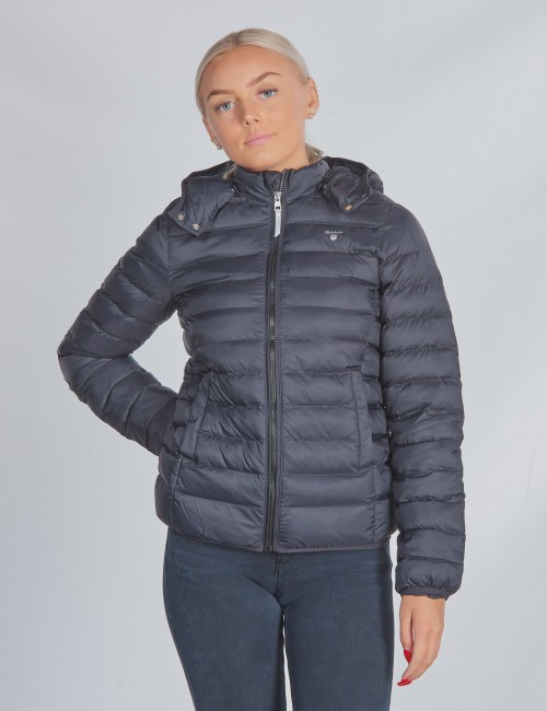Gant barnkläder - D1. LIGHT WEIGHT HOODED PUFFER