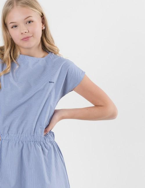 Gant barnkläder - STRIPED SS SHIRT DRESS