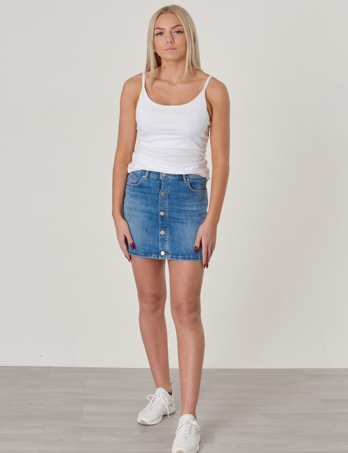Gant barnkläder - TG. BUTTON DENIM SKIRT