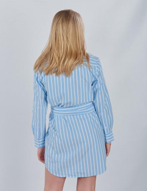 Gant barnkläder - TG. SPRING STRIPE SHIRT DRESS