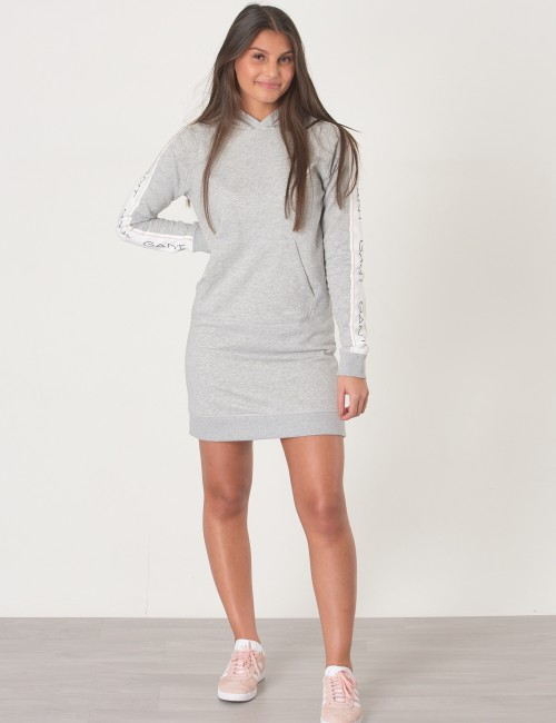 Gant barnkläder - ICON SWEAT HOODIE DRESS