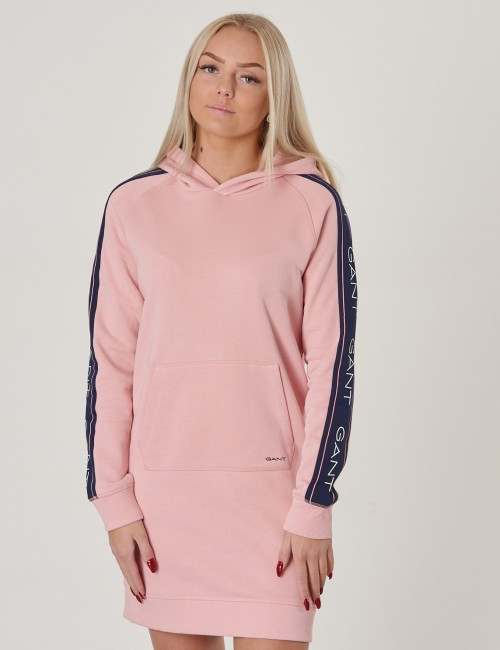 Gant - ICON SWEAT HOODIE DRESS