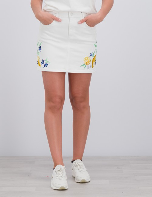 Gant - SUMMER EMBROIDERY TWILL SKIRT