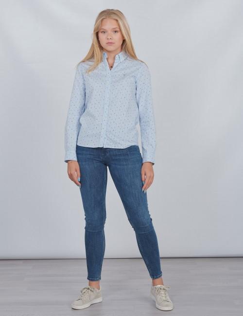 Gant barnkläder - D1. GANT LETTERS STRIPED SHIRT