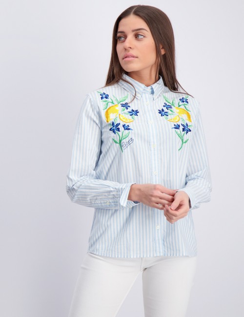 SUMMER EMBROIDERY SHIRT