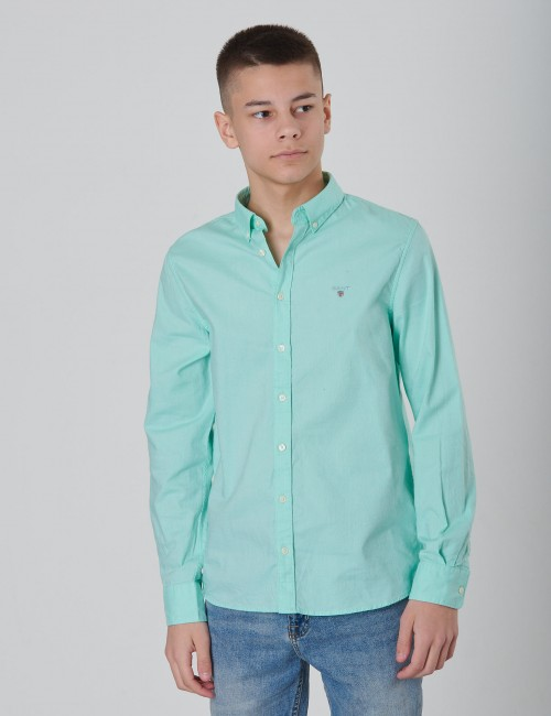 D1. ARCHIVE OXFORD B.D SHIRT