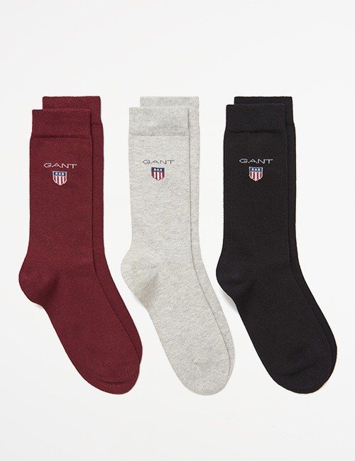 Gant - 3 PACK GANT SHIELD SOCKS