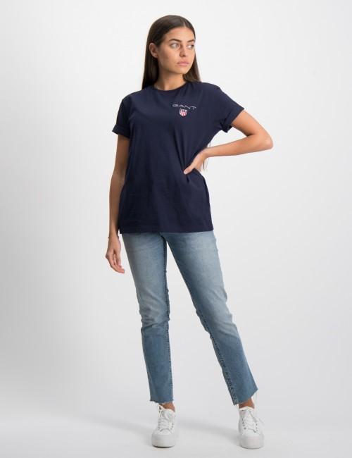 Gant barnkläder - MEDIUM SHIELD SS T-SHIRT