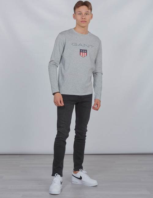 Gant barnkläder - SHIELD LOGO LONG SLEEVE
