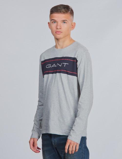Gant - D1. . GANT ARCHIVE LS T-SHIRT
