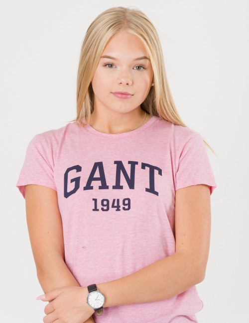 Gant - TG. TEENS GANT LOGO SS T-SHIRT