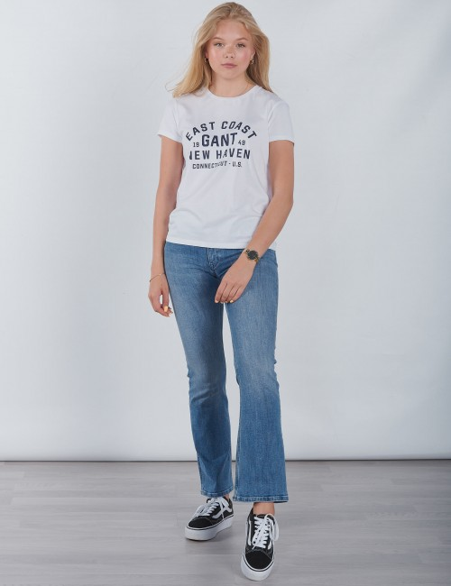 Gant barnkläder - GANT COLLEGIATE SS T SHIRT