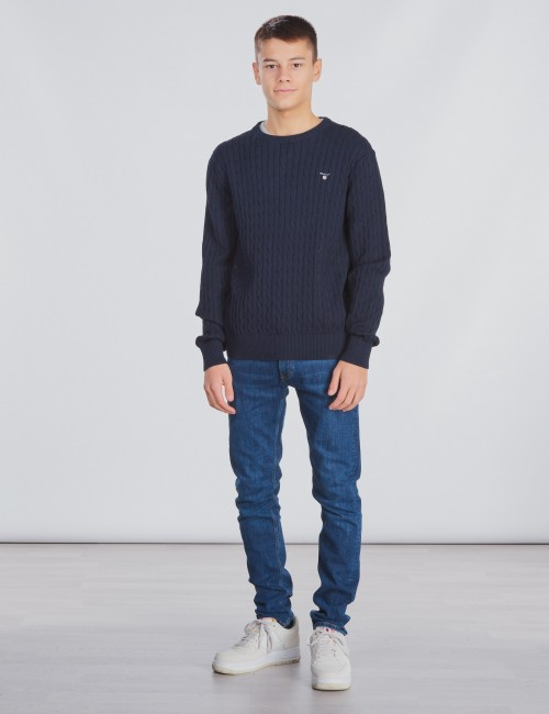 Gant - O. COTTON CABLE CREW