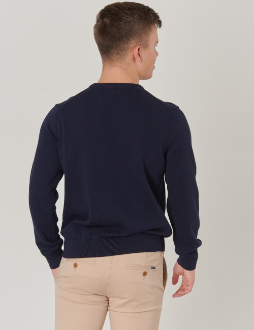 Gant - TB. CHEST STRIPE CREW