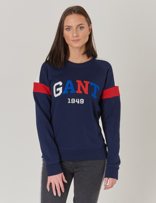 Gant barnkläder - TB. GANT COLOR C-NECK SWEAT