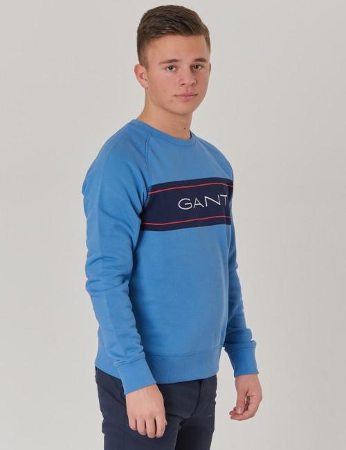 Gant - D1.  GANT ARCHIVE C-NECK SWEAT
