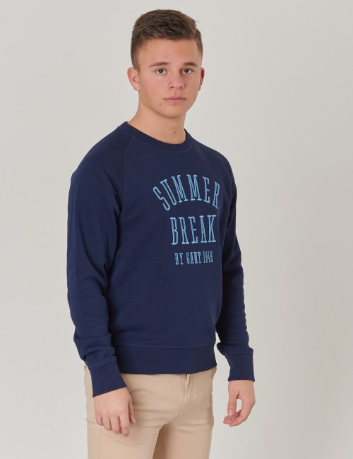 Gant - TB SUMMER LOGO C-NECK SWEAT