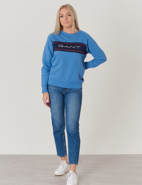 Gant - D1.  GANT ARCHIVE C-NECK SWEAT