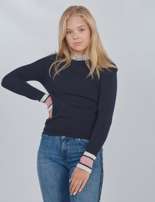 Gant barnkläder - D1. GANT ARCHIVE LOGO CREW