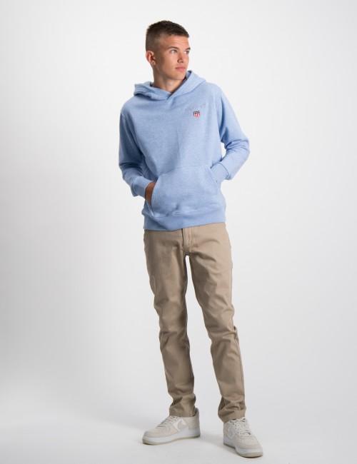 Gant barnkläder - MEDIUM SHIELD SWEAT HOODIE