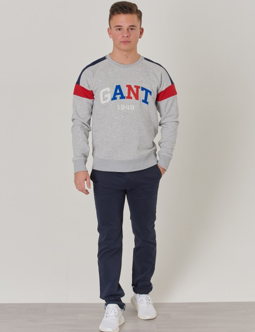 Gant barnkläder - TB. GANT COLOR C-NECK SWEAT
