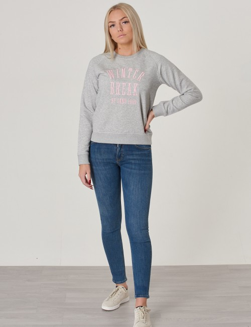 Gant - TG. WINTER LOGO C-NECK SWEAT