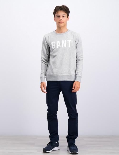 Gant barnkläder - MD. GANT LOGO C-NECK SWEAT