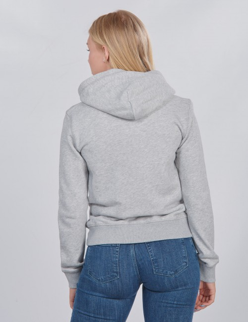 Gant barnkläder - D1. GANT LOGO FULL ZIP HOODIE