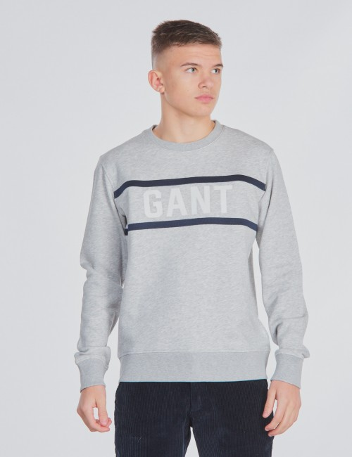 THREE COLORS C-NECK SWEAT