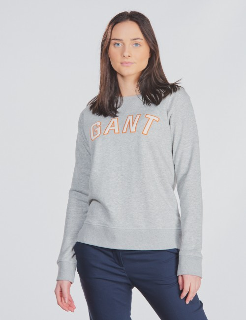 GANT CASUAL C-NECK SWEAT
