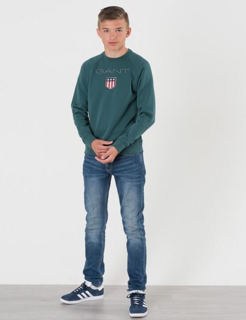Gant barnkläder - GANT SHIELD LOGO SWEAT C-NECK
