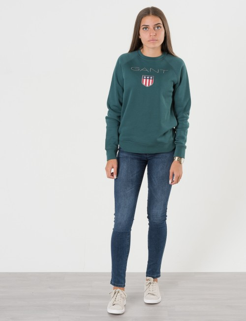 Gant - GANT SHIELD LOGO SWEAT C-NECK