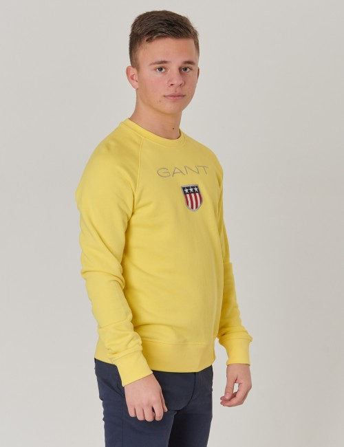 Gant - D1.  GANT SHIELD LOGO SWEAT C-NECK