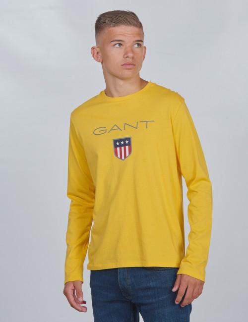 Gant barnkläder - SHIELD LOGO LONG SLEEVE