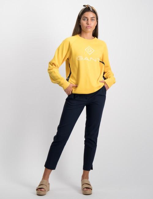 Gant barnkläder - LOCK UP STRIPE C-NECK SWEAT