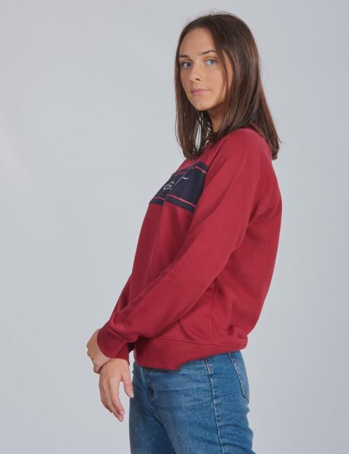 Gant barnkläder - D1. TB. GANT ARCHIVE C-NECK SWEAT