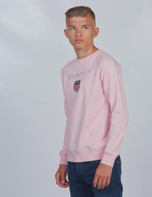 Gant barnkläder - SHIELD LOGO CREWNECK