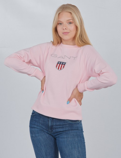 SHIELD LOGO CREWNECK