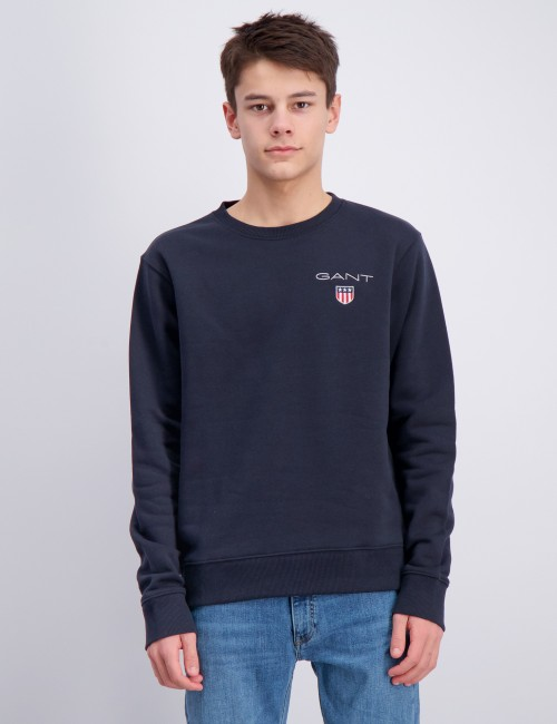 Gant barnkläder - MEDIUM SHIELD SWEAT C-NECK