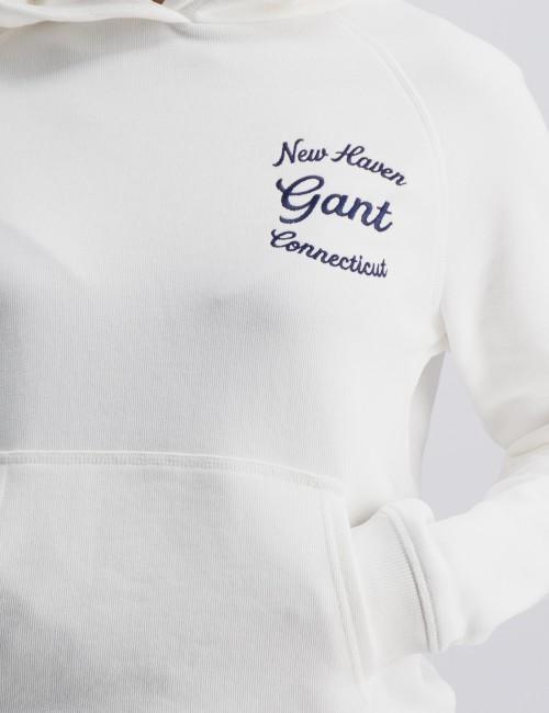 Gant - GANT SCRIPT LOGO HOODIE