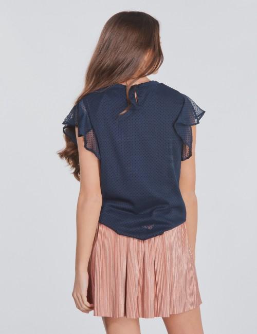Garcia barnkläder - Girls Shirt With Short Sleeves
