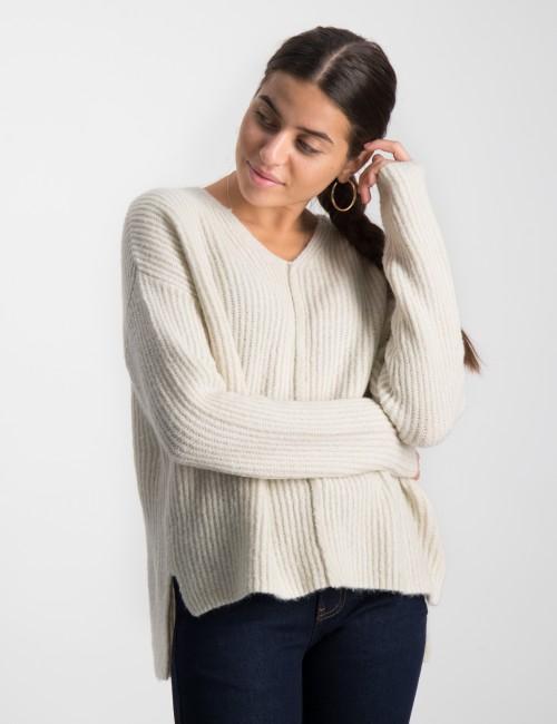 Define V-Neck Knit