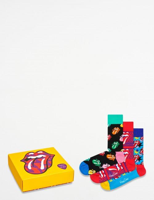 Happy Socks barnkläder - Rolling Stones SockBox Set