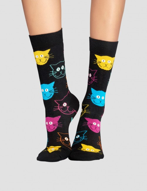 Happy Socks - Cat Sock