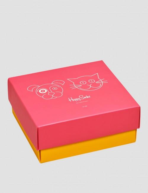 Happy Socks barnkläder - Cat VS Dog Gift Box