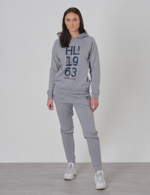 Henri Lloyd - OH Embossed LB Logo Hoodie with Pockets