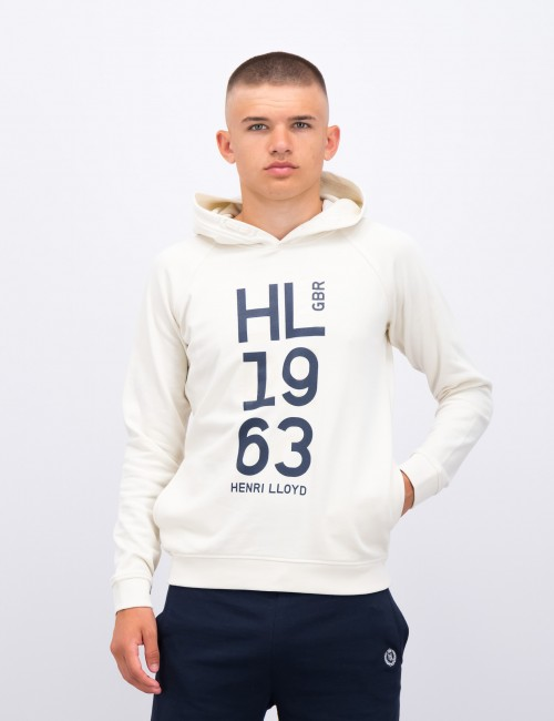 OH Embossed LB Logo Hoodie with Pockets