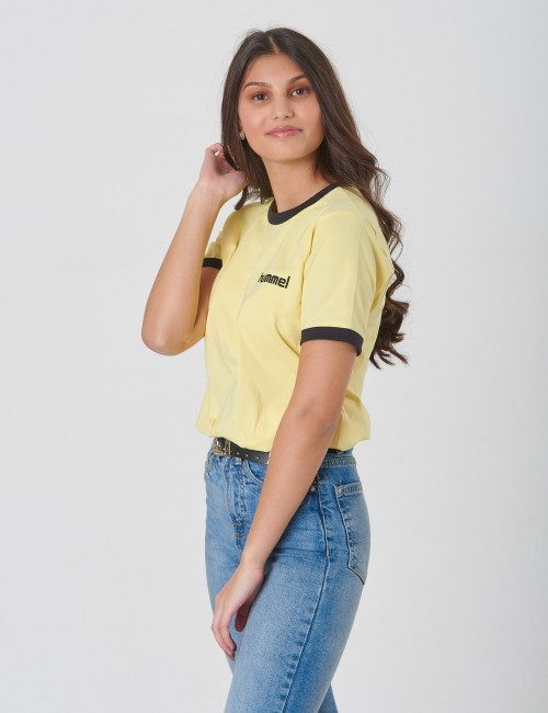 Hummel - YELLOW T-SHIRT S/S