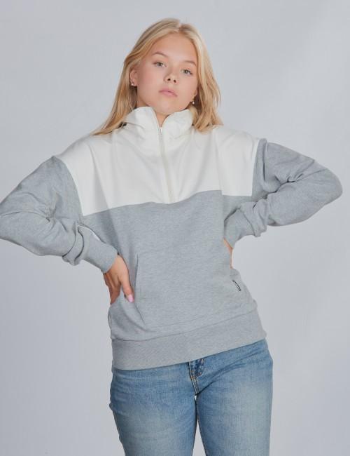 Hummel barnkläder - hmlTINE HALF ZIP SWEATSHIRT
