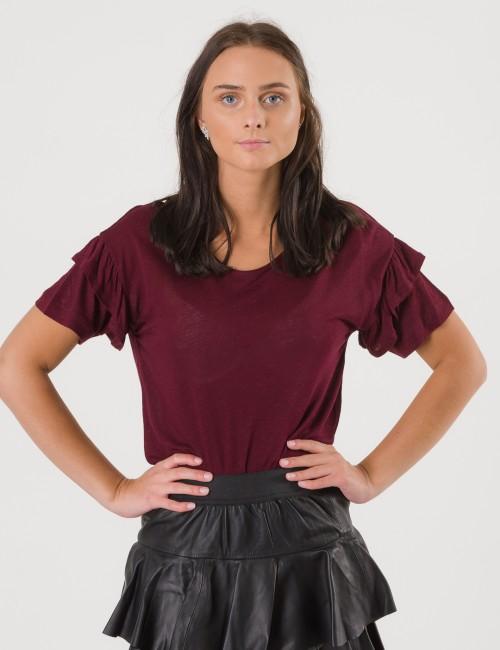 DESIGNERS, REMIX barnkläder - New Blos Ruffle Tee